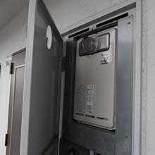 PS(パイプスペース)扉内設置前方排気タイプ